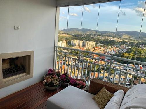 Apartamento Maravilhoso, Mobiliado, Para Venda No Terraços Da Serra Em Jundiaií - Ap00431 - 68143130