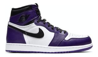Tenis Air Jordan 1 Retro High Og Court Purple White
