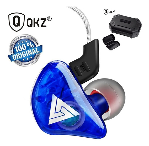 Fone In Ear Qkz Ck5 Retorno Monitor Dj Hifi Top Original Pro