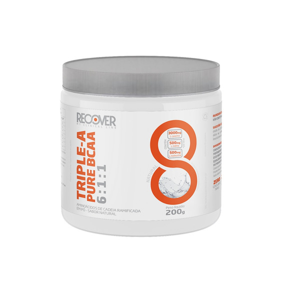 Bcaa Triple-a Pure Bcaa 6:1:1 200g - Recover