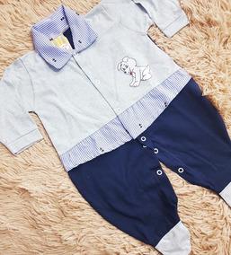 Macacão Bebê Azul