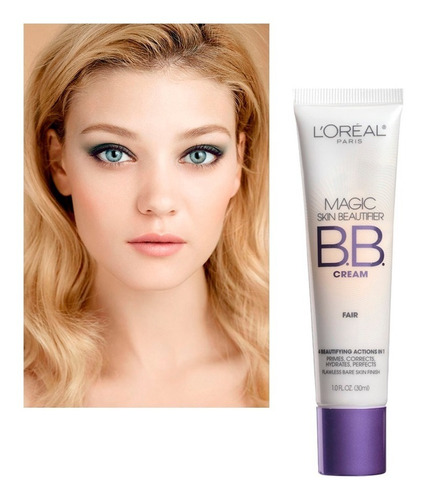 Bb Cream Loreal Paris Magic Skin Corrige Hidrata Tono Fair