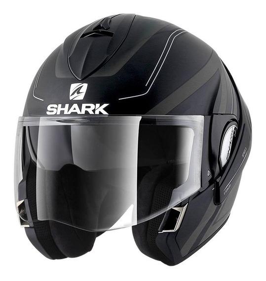 Capacete Shark Evoline Serie 3 Hyrium Com Viseira Solar