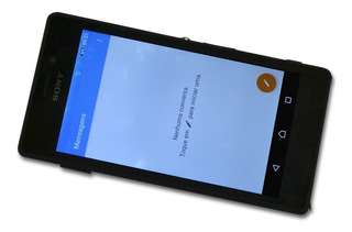 Sony Xperia M2 D2403 4.8 8gb Usado Com Ponto De Luz + Brinde