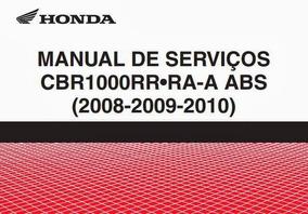 Manual De Serviços Cbr1000rr 2008 A 2014