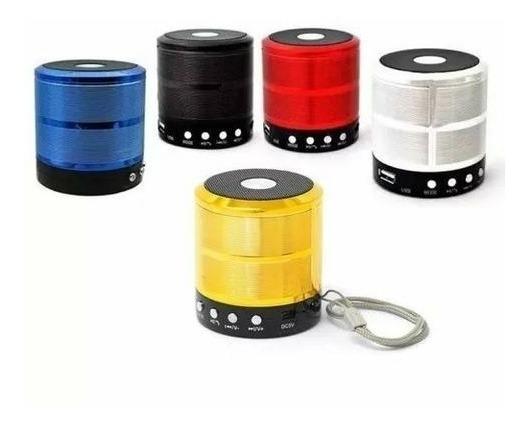 Caixa Som Bluetooth Pendrive Radio Potente Usb Atacado - 6un