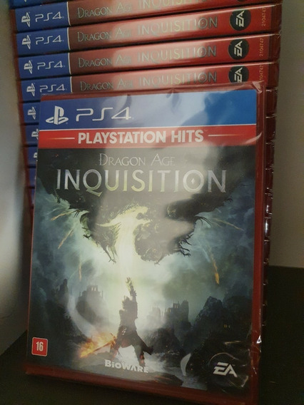 Jogo Dragon Age Inquisition Ps4 Midia Fisica Novo Lacrado