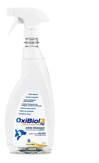 Jabon Desinfectante Biol 3 Salud Animal 500 Ml Oxibiol
