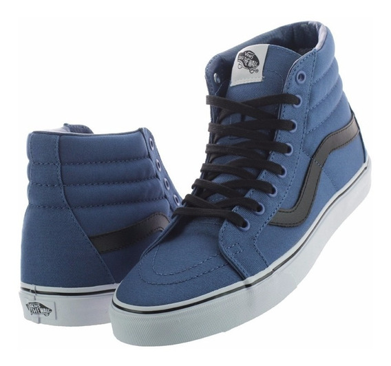 Vans Sk8-hi Canvas Navy Black/vn0003caiot/envio Gratis!