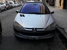 Peugeot 206 Xtd 2003 Diesel Full Techo Solar Tope De Gama