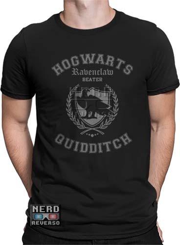 Camisetas Harry Potter Corvinal Hogwarts Ravenclaw Rowena