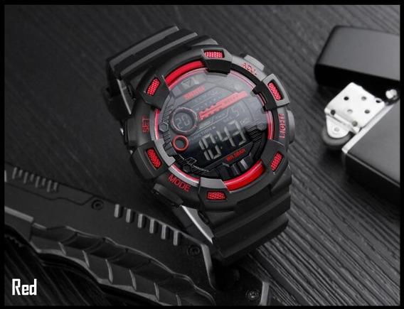 Relógio Masculino Skmei 1243 Preto Original _ Super Promoção