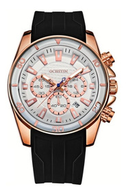 Relógio Ochstin Silicone Luxo Envio Imediato