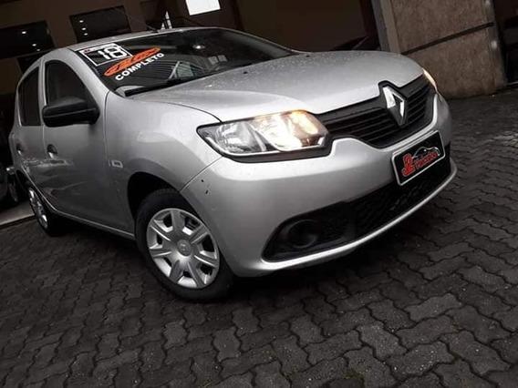 Renault Sandero Authentic Sem Entrada 48x Zero De Entrada