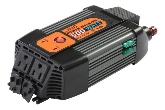 Inversor De Corriente 500w Light Shock Pro