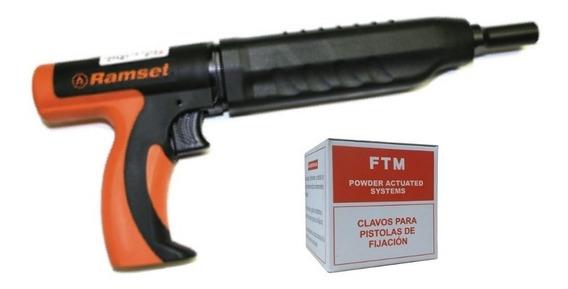 Pistola De Fijación Ramset + Caja De Clavos De Impacto De 1