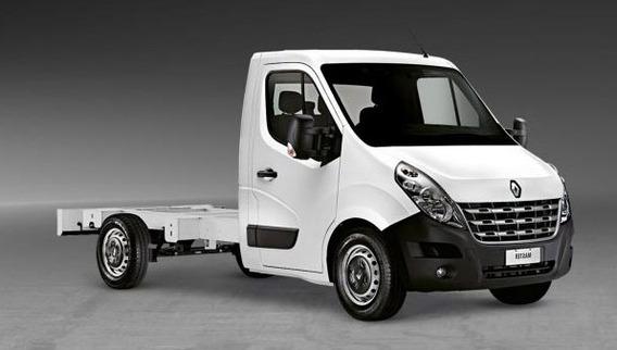 Renault Master Chassi 2020 (branca E Prata)