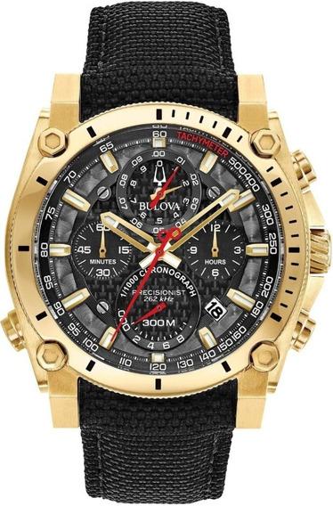 Reloj Bulova 97b178 Precisionist Cronógrafo - 100% Original