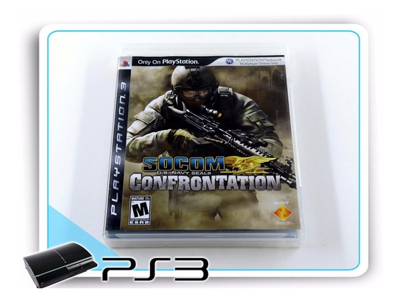 Ps3 Socom Us Navy Seals Confrontation Orig. Playstation 3