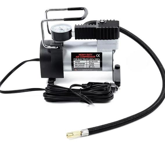 Mini Compressor Ar Profissional Veículos Para Encher Pneus