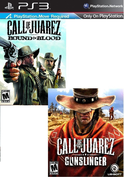 Call Of Juarez Bound In Blood + Gunslinger Ps3