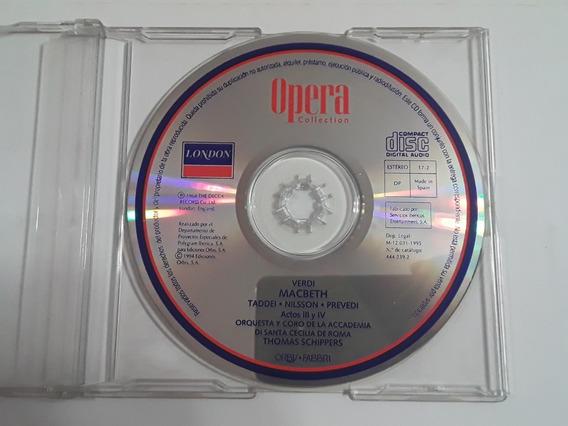 Opera Collection Giuseppe Verdi Macbeth Actos 3 Y 4