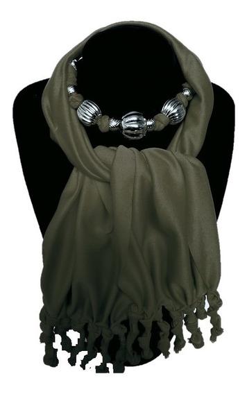Sofisticado Collar Pashmina Mascada Bufanda Varios Colores