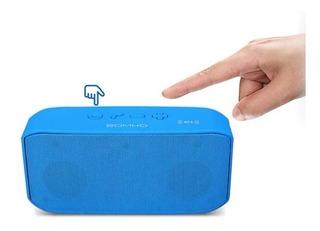 Parlante Blue Monster S305 Rojo Negro Bluetooth 10w Rms