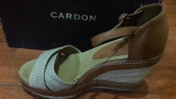 Sandalias Cardon N°38 Con Plataforma