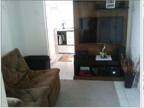 Imagem 1 de 10 de Sala Living Com 1 Dorm, Centro, São Vicente - R$ 170 Mil, Cod: 55 - V55
