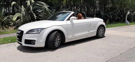 Audi Tt Roadster Convertible Como Nuevo Blanco 2012 Turbo