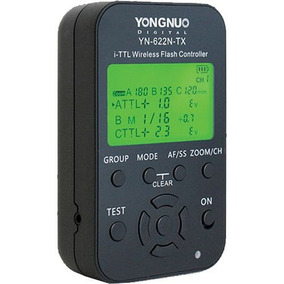 Rádio Flash Yongnuo Yn622c-tx Para Nikon