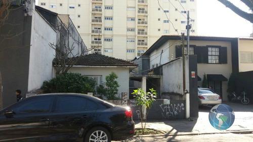 Terreno Com Casa Velha Na Vila Nova Conceição Do Lado Da Av. Hélio Pelegrino. - Mi17029