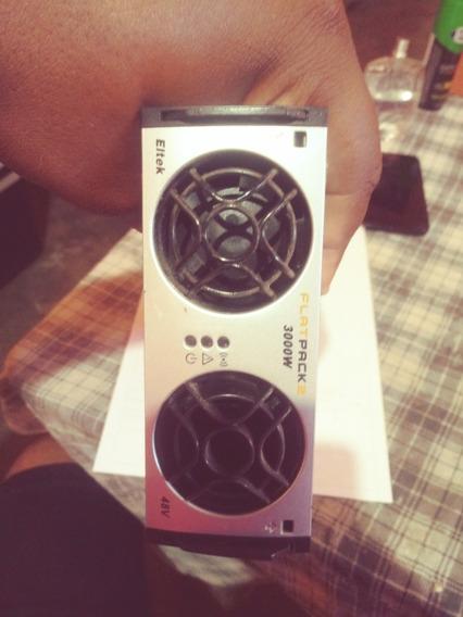 Retificador Profissional 48 Volts Eltek Flat Pack 3000 Watts