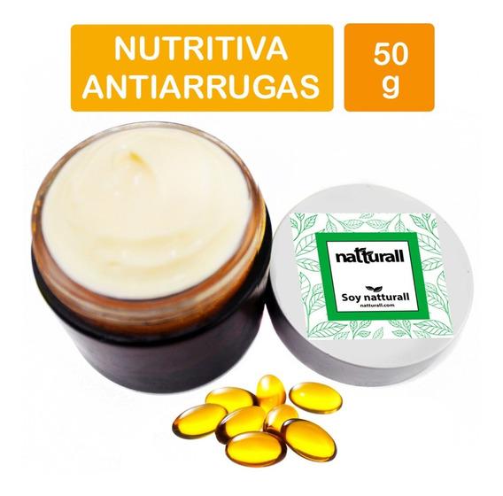 Crema Vitamina E Pura Con Aceite Facial Corporal Manos