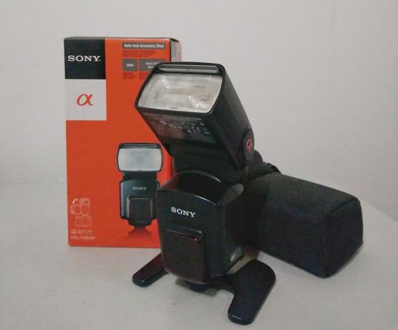 Flash Sony Hvl-58am + Adaptador De Sincronia
