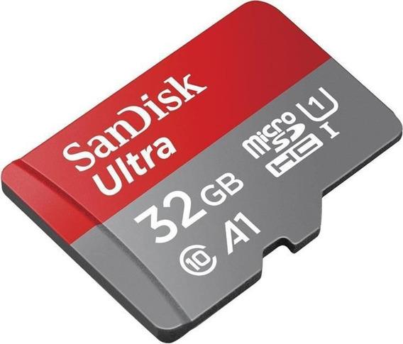 Cartão Microsdhc Sandisk 32gb Classe 10 Ultra A1 98mb/s