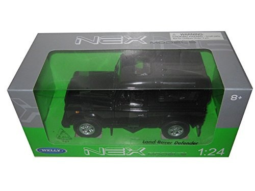 Land Rover Defender Negro 1/24 Por Welly 22498
