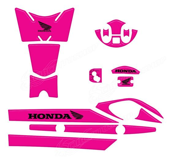 Protetor Tanque Escape Mesa Ignicao M6 Honda Pcx 150 2014/15