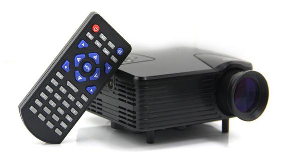 Video Beam Negro Model H100 Casi Nuevo