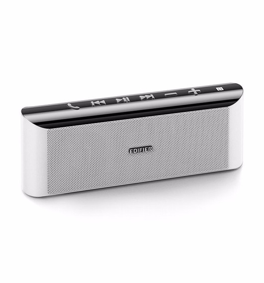 Parlante Portable Edifier Mp233 Blanco Bluetooth Bateria