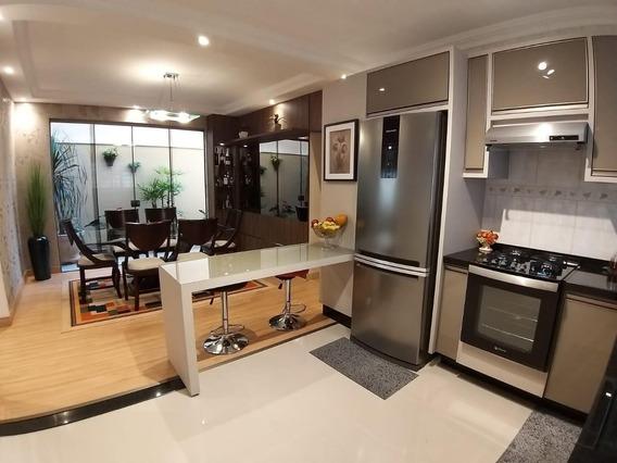 Casa Com 3 Dormitórios À Venda, 135 M² Por R$ 520.000,00 - Jardim Santa Alice - Londrina/pr - Ca1410