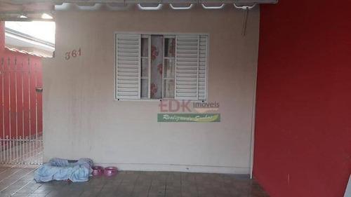 Imagem 1 de 3 de Casa Com 2 Dormitórios À Venda, 68 M² Por R$ 191.000 - Parque Meia Lua - Jacareí/sp - Ca4115