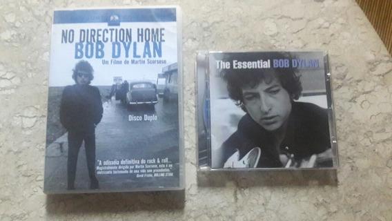 Dvd Bob Dylan No Direction Home + 2 Cds T.essential Grátis