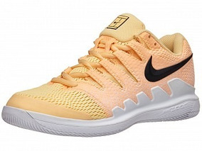 Tenis Para Tenis Dama Nike Air Zoom Vapor X Naranja