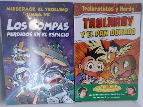 Imagen 1 de 1 de Los Compas Perdidos En El Espacio + Trolardy Y El Pan Dorado