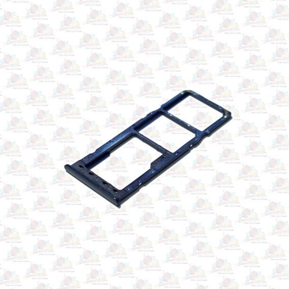 Refaccion Bandeja De Sim Dual Sim Galaxy A10 A105 Nuevo Azul