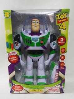 Toy Story 4 Buzz Lightyear Nuevo De Coleccion Luces Y Sonido