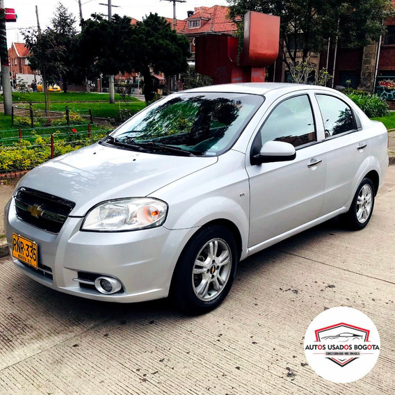 Chevrolet Aveo Emotion 1.6l At 1600cc Aa 2ab Abs Modelo 2012