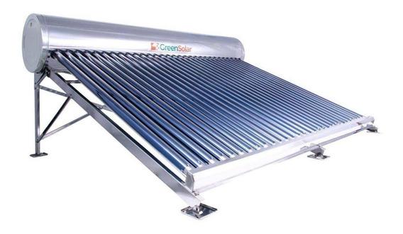 Calentador Solar Greensolar 30 Tubos 342 Litros